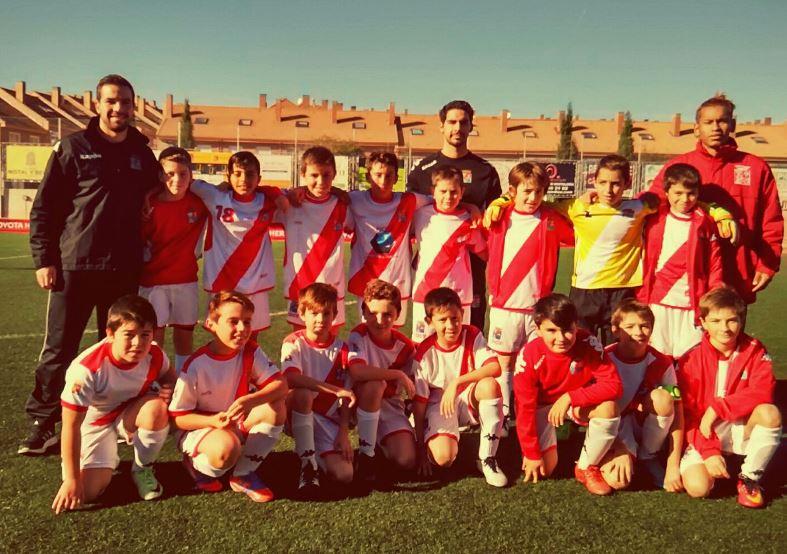 El Alevin E vence al Sporting de Hortaleza y se situa en la primeras posiciones