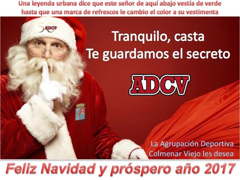 La ADCV les desea Feliz Navidad y Feliz Año 2017