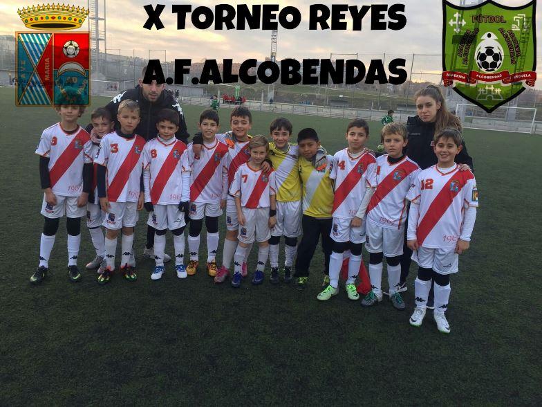 Benjamín ADCV en Torneo de Reyes CDE Academia Alcobendas