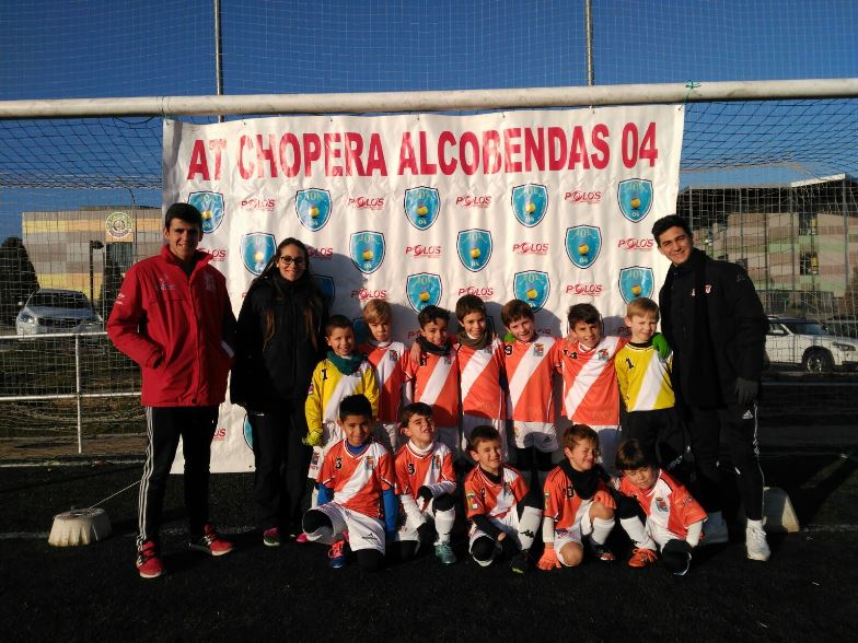 Prebenjamin ADCV en Torneo Atlético Chopera Alcobendas