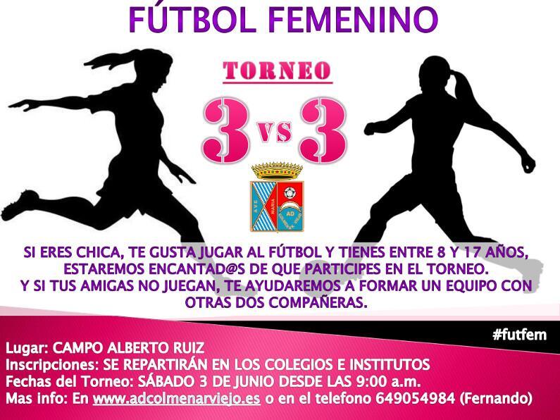 Torneo 3x3 de futbol femenino en la ADCV