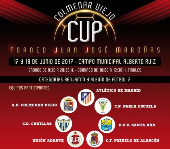 II Colmenar Viejo Cup 2017 Torneo Juan José Maroñas