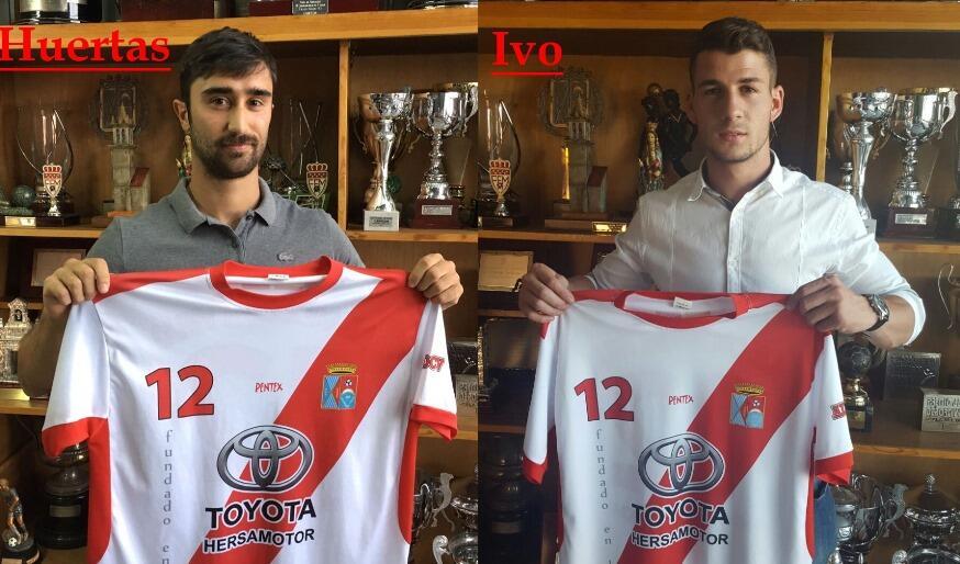 Ivo y Huertas, dos nuevos refuerzos para el primer equipo de la ADCV
