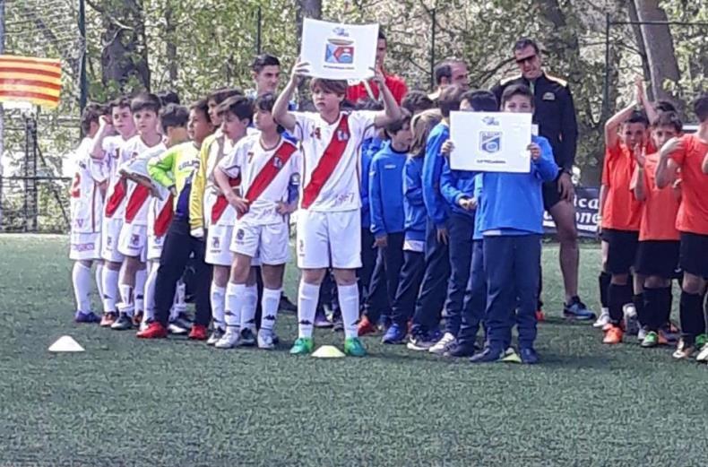 Participación del Benjamín de la Agrupación Deportiva Colmenar Viejo en la Espinar Cup 2018