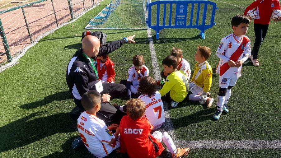 Participación Prebenjamín de la Agrupación Deportiva Colmenar Viejo en la Espinar Cup 2018