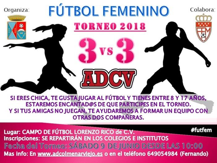 II Torneo ADCV de Fútbol 3 x 3 femenino