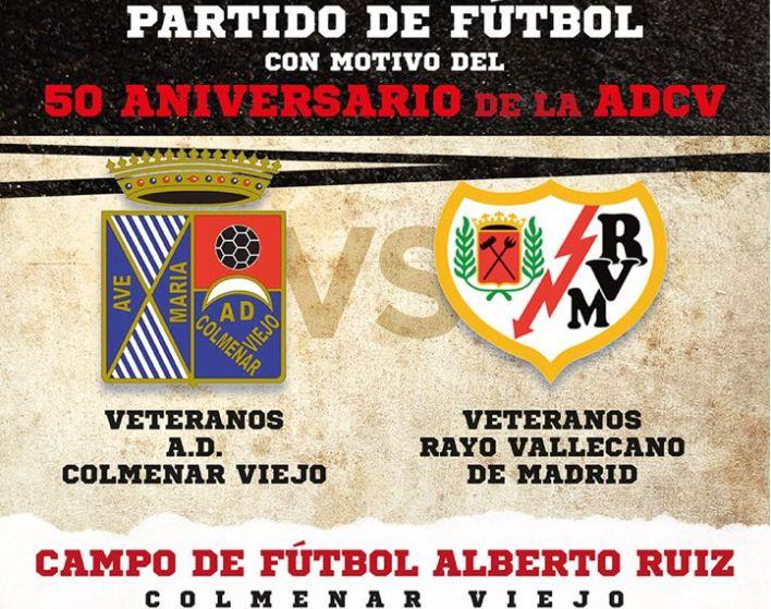 Partido de futbol con motivo del 50 Aniversario de la ADCV