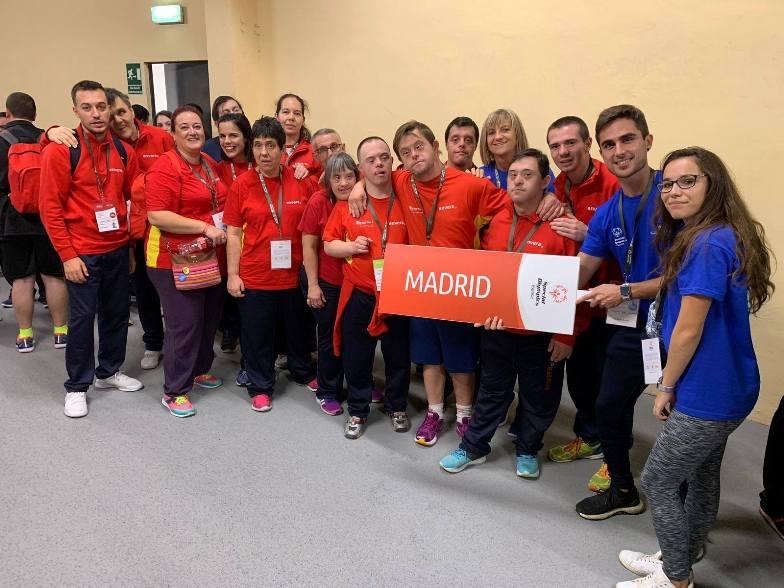 Los deportistas de ENVERA en el Nacional de Atletismo en Zaragoza