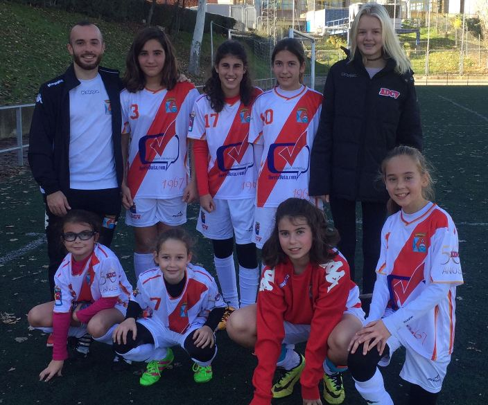 Fotos del Femenino Infantil temporada 2016-2017
