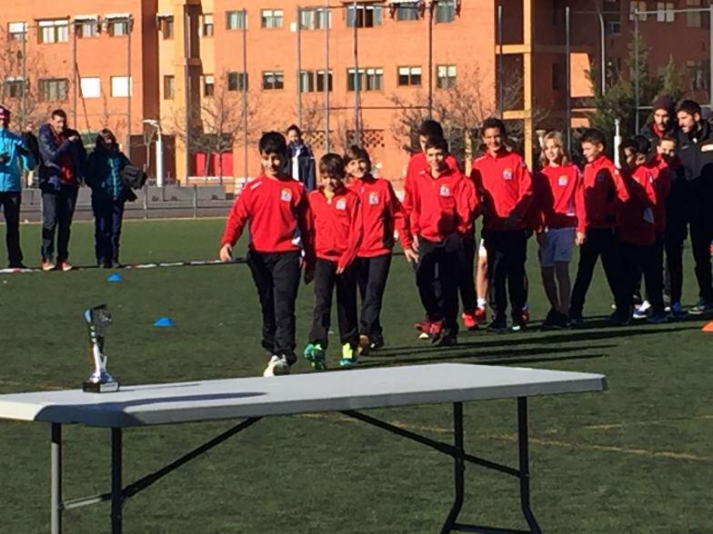 Alevin ADCV en Torneo de Reyes CDE Academia Alcobendas