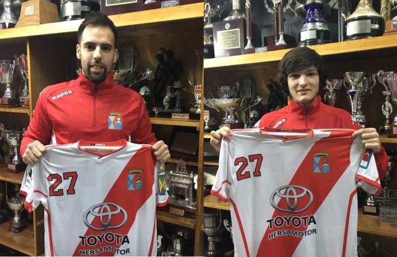 Adrián Rodrigues Gonçalves y Carlos Llorente Hernández: refuerzos de invierno de la ADCV