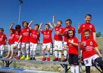 El Prebenjamin I de Colmenar, Campeon de Liga 2018-2019