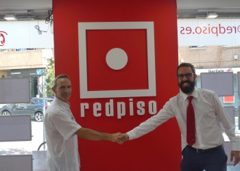 Acuerdo de colaboración de la A.D. Colmenar Viejo con Red Piso