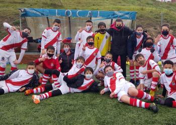 Remontada, esfuerzo, buen fútbol, partidazo y Victoria con goleada para el Alevín C