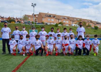 El Alevin A del Colmenar, Campeon de la liga Preferente 2020-2021