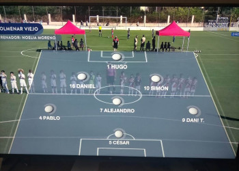 Espectacular participación del Prebenjamín A del Colmenar en el Torneo de Campeones