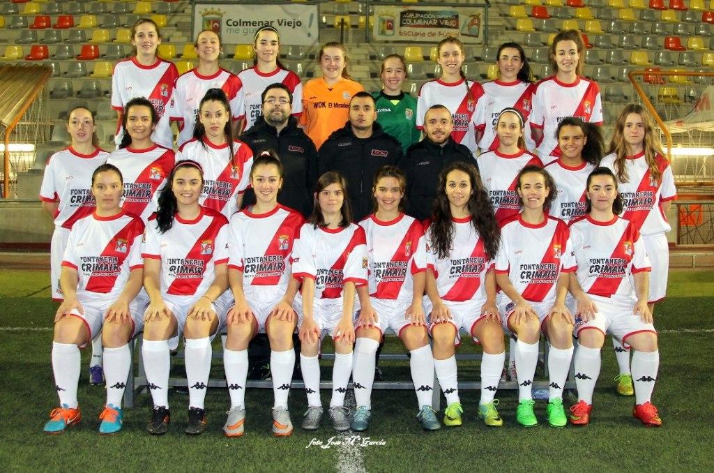 Fotos del Femenino temporada 2015-2016
