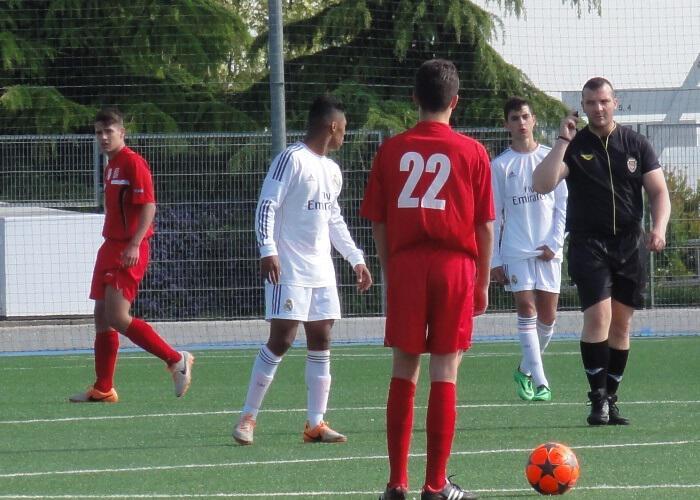 Gran victoria 0-3 sobre el Cadete B del Real Madrid