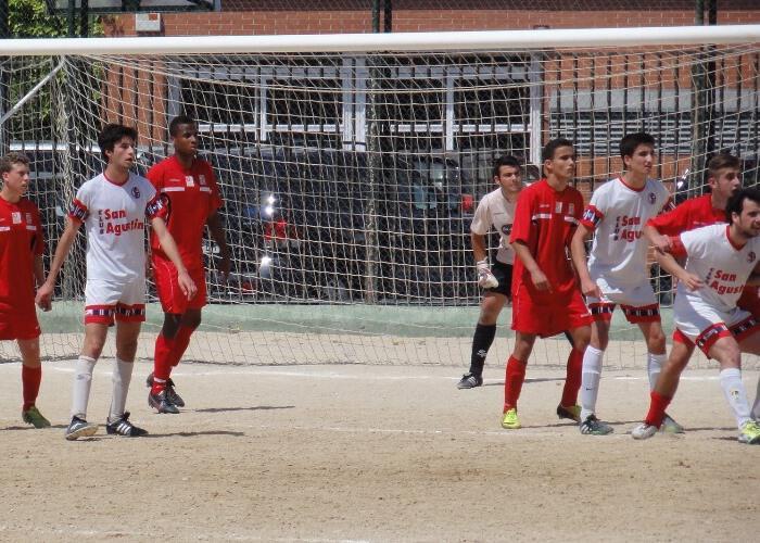 Derrota del Juvenil B en la tierra del Club San Agustín