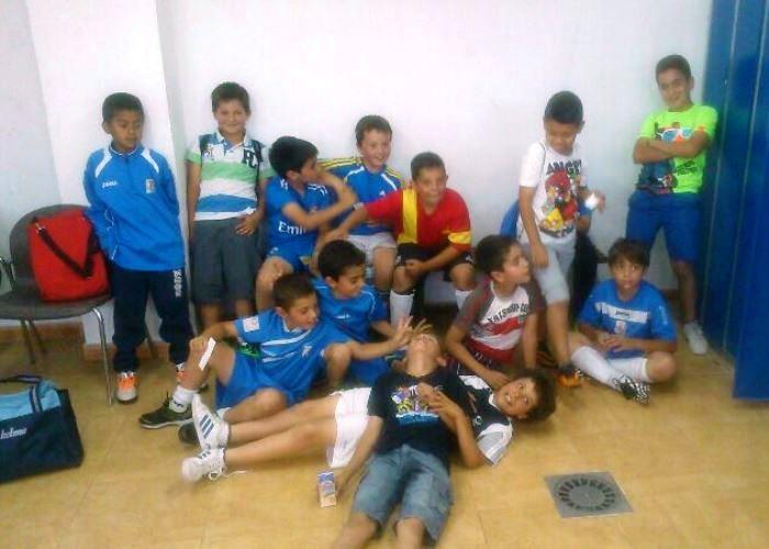 Participación de nuestros Benjamines en el Torneo de Pedrezuela 2014