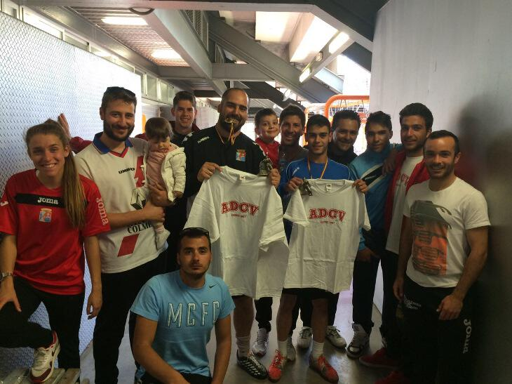 Eduardo y Cristian, mejores entrenadores de la ADCV en Marzo.