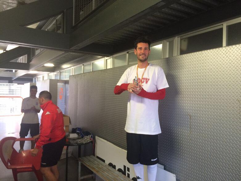 Victor Vasilev, mejor entrenador de la ADCV en Abril.