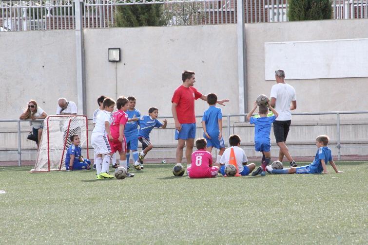 El Futbol 7 de la A.D. Colmenar Viejo comienza un nuevo año