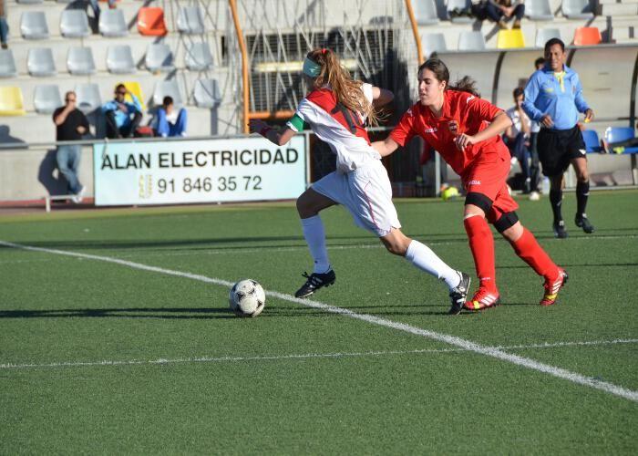 El Femenino de la A.D. Colmenar Viejo, partido a partido