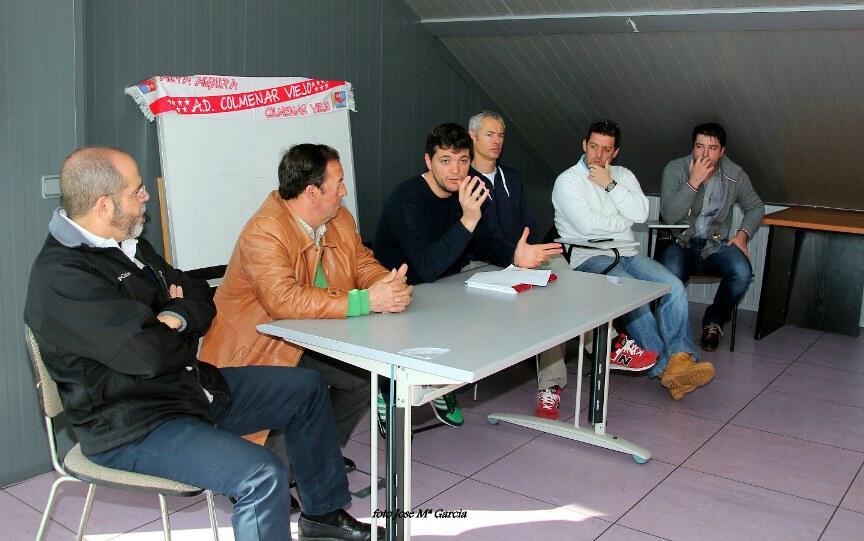 Acuerdo de fusión entre la A.D. Colmenar Viejo y el C.D. Rayo Colmenar Viejo