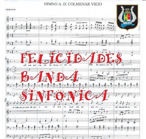 Felicidades a la banda sinfónica de Colmenar Viejo por su 30 aniversario