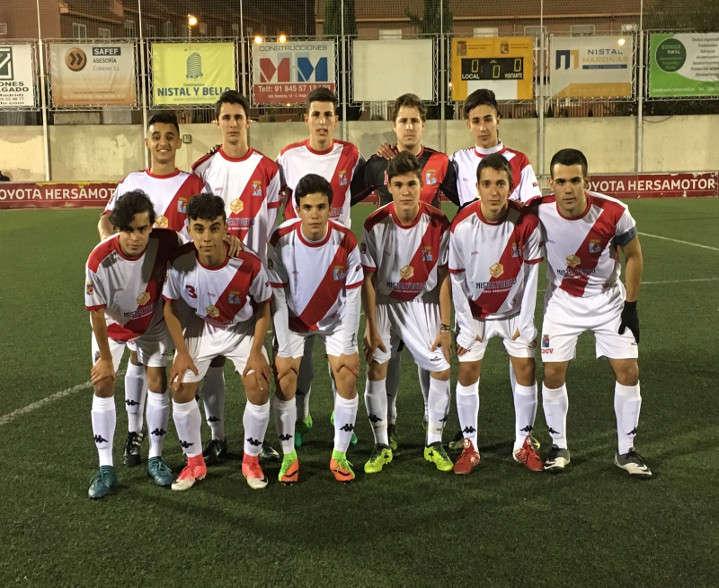 Justa victoria frente al Atlético Chopera Alcobendas A