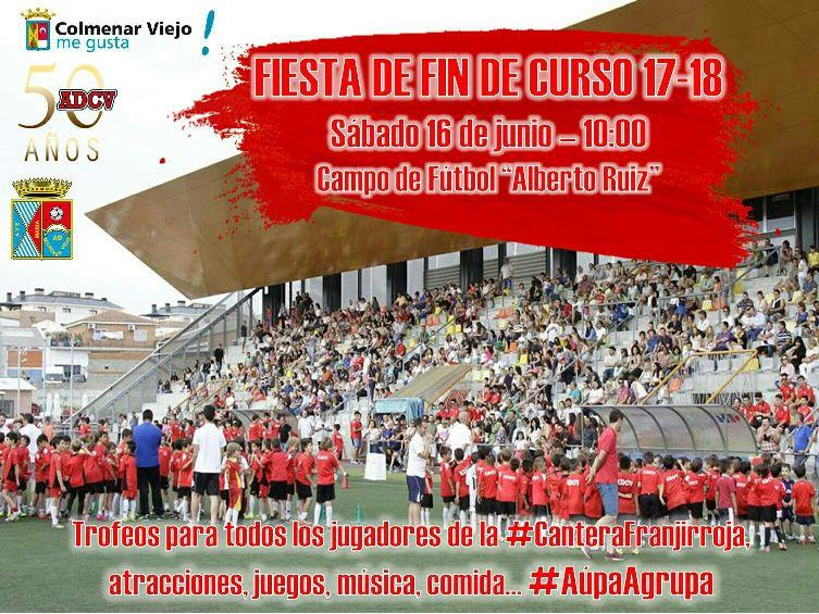 Fiesta fin de temporada 2017-2018 ADCV