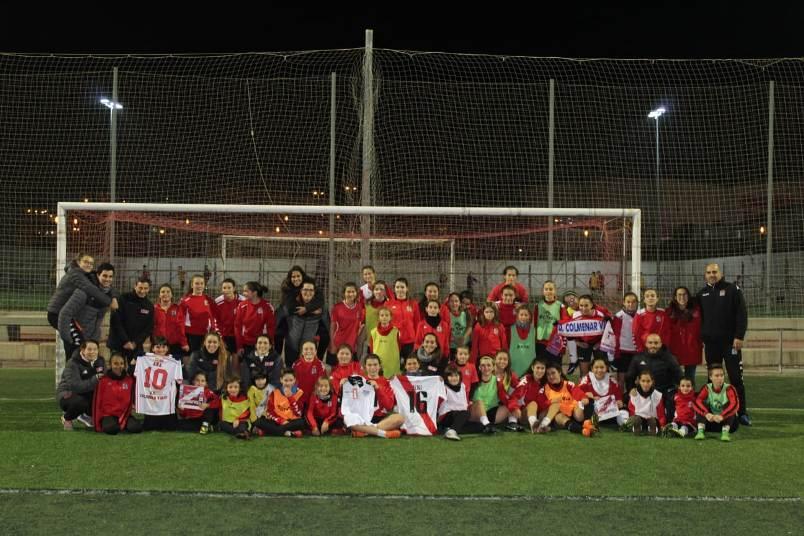 I Convivencia de Futbol Femenino en Colmenar 2018