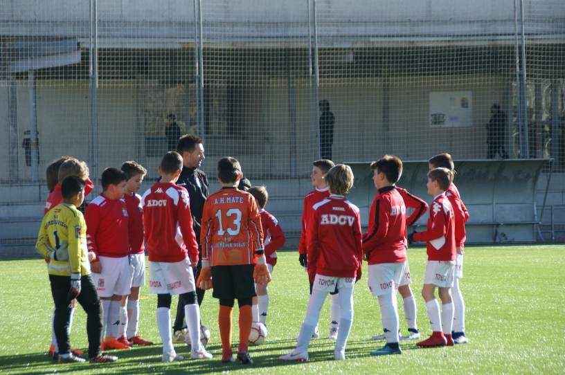 El Alevin A de la ADCV, felicitado por la Federación de Futbol de Madrid