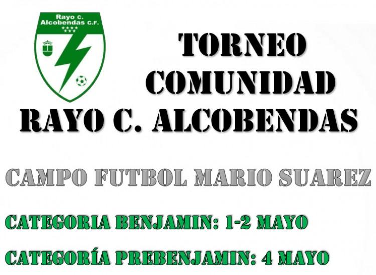 Torneo comunidad Rayo Ciudad Alcobendas