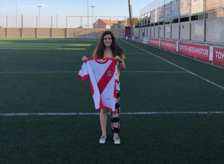 Ana Hernández, una nueva centrocampista para el Colmenar