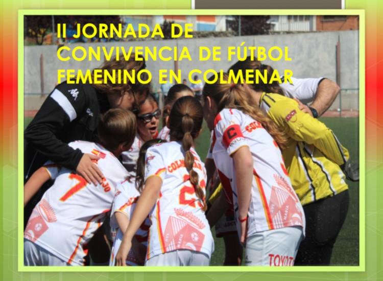 II Jornada de convivencia de Futbol Femenino en Colmenar