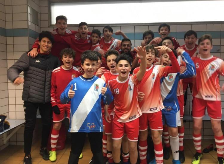 Buen futbol el Infantil E y nueva victoria a domicilio