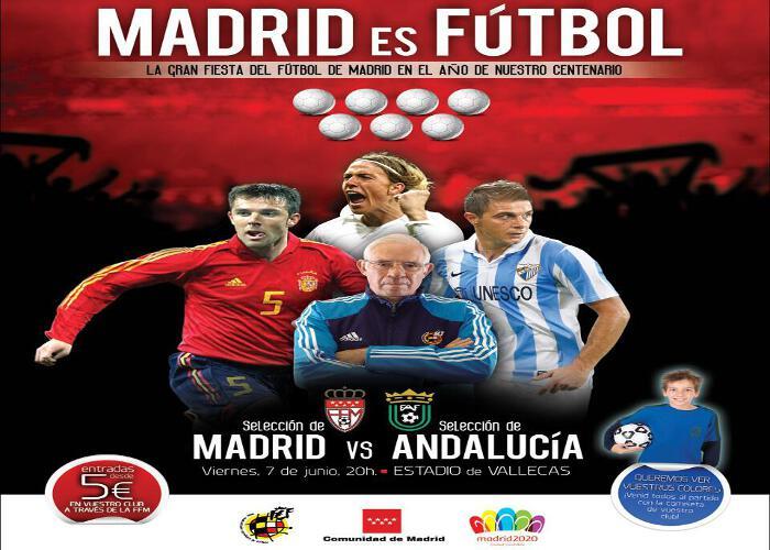 Partido Centenario de la Federación de Futbol de Madrid