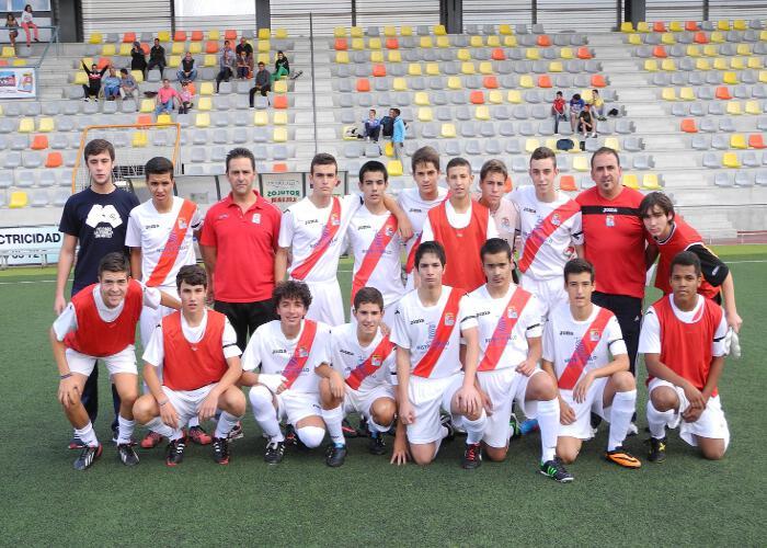 Cuarta victoria del Cadete A. 0-10 frente al San Roque