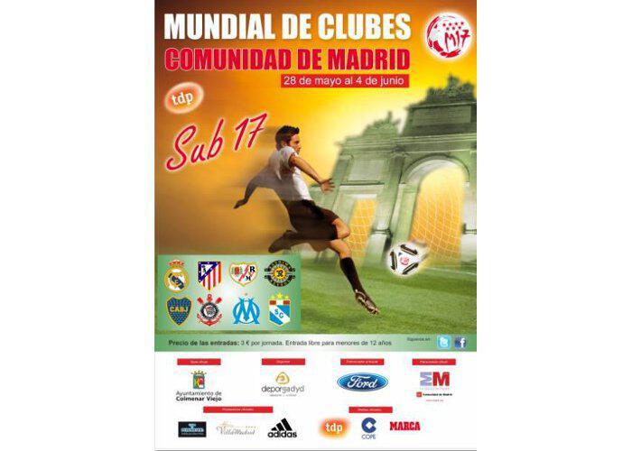 Final del Mundialito de Clubes Sub-17 de la Comunidad de Madrid 2014