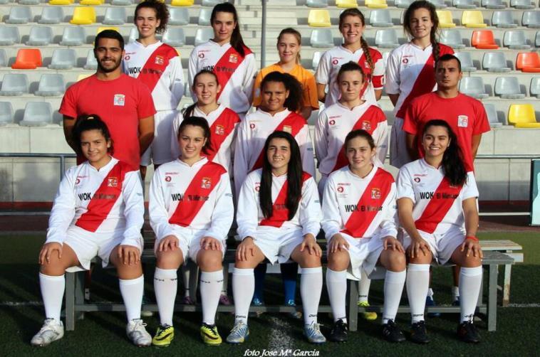 Madrugón y victoria de nuestro femenino en Villalba