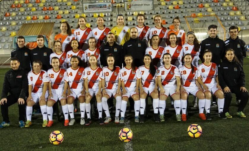 El equipo femenino, siguiendo el buen camino