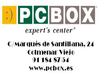 PCBOX, socio tecnológico de la A.D. Colmenar Viejo