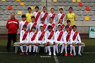 Pulsa para acceder a las fotos del Alevin A de la Temporada 2013-2014
