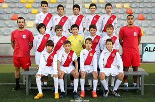 Pulsa para acceder a las fotos del Infantil A de la Temporada 2014-2015