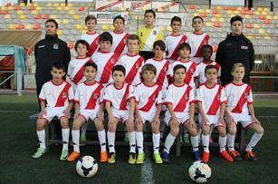 Pulsa para acceder a las fotos del Alevin F de la Temporada 2016-2017