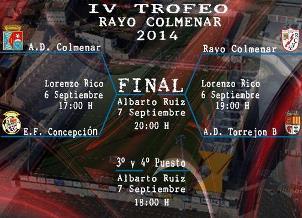 IV Torneo Rayo Colmenar 2014