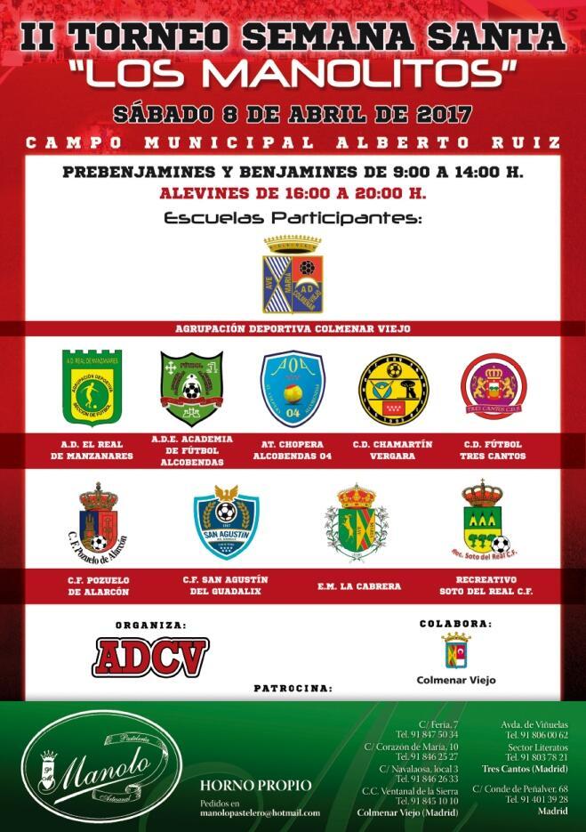 II Torneo de Semana Santa Los Manolitos 2017