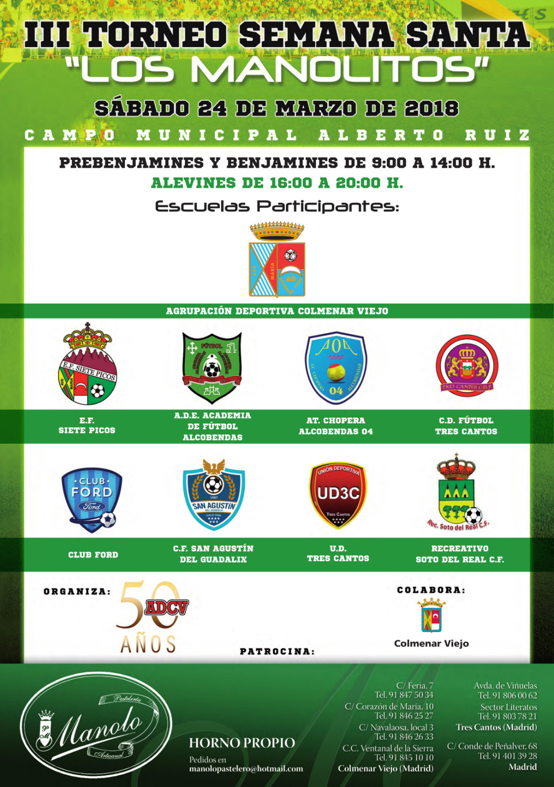 III Torneo de Semana Santa Los Manolitos 2018